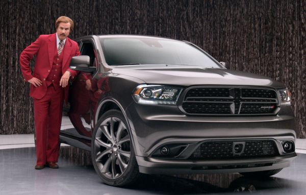 Ron Burgandy Dodge Durango